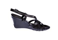 鞋子妇女的 免版税库存照片