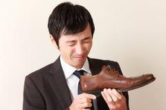 鞋子气味 库存图片