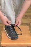 鞋子附加 免版税库存图片