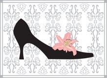 鞋子 皇族释放例证