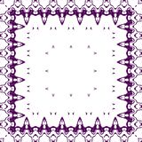 鞋带模式紫色 库存照片