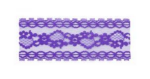 鞋带紫色部分 免版税库存照片