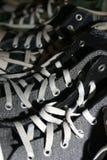 鞋带 库存照片