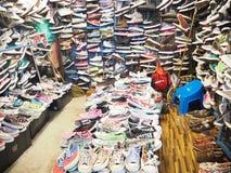 鞋店 库存照片