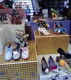 鞋店 库存图片