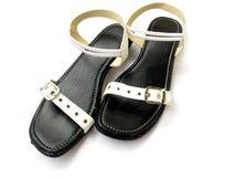 鞋类皮革 免版税图库摄影