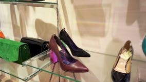 鞋类和辅助部件的销售汇集 影视素材