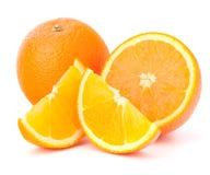 鞍尾结果实全部他的橙色的细分市场 免版税库存照片