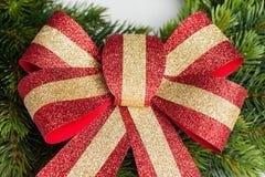 鞠躬截去数字式梯度例证包括的滤网路径的圣诞节 免版税图库摄影