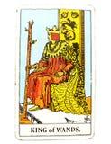 鞭子占卜用的纸牌动态强有力的坚强的领导人统治者上司主任Experienced Mentor角色模型目标的国王Sette 库存照片