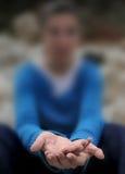 鞭子妇女 免版税库存图片