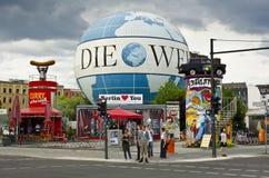 鞭痕气球,柏林,德国 免版税库存图片