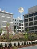 韦克福里斯特创新处所在温斯顿萨兰姆,北卡罗来纳(NC) 免版税库存照片
