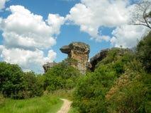 韦利亚镇,圣卡塔琳娜州,巴西 免版税库存图片