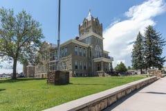 韦尔法诺县法院大楼 库存图片