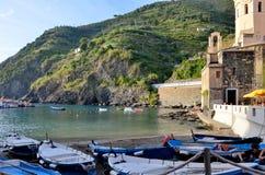 韦尔纳扎一个渔村在五乡地 免版税库存图片