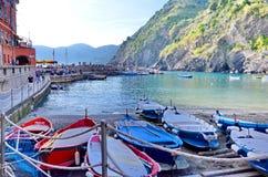 韦尔纳扎一个渔村在五乡地 免版税图库摄影
