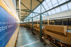 韦恩堡艾伦县公立图书馆  免版税库存照片