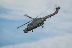 韦斯特兰天猫座直升机 免版税库存图片