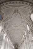 韦纳里亚雷亚莱王宫内部天花板画廊饼的 库存照片