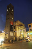 韦莱特里大教堂 库存图片