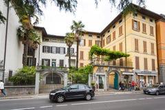 洛韦雷镇,意大利 免版税库存图片