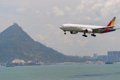 韩亚航空 免版税库存照片
