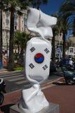 韩国从法国的巧克力 图库摄影
