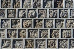 韩国传统墙壁 免版税图库摄影