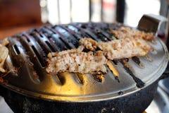 韩国传统烹调 库存照片