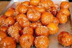 韩国传统蜂蜜面包 免版税库存图片