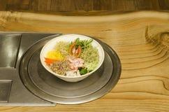 韩国全国食物。 免版税库存照片