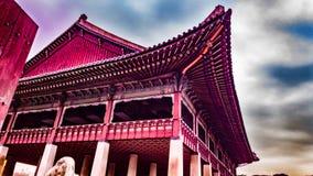 韩国国王会议厅 免版税库存照片