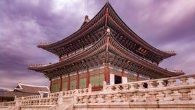 韩国国王会议室 免版税库存图片