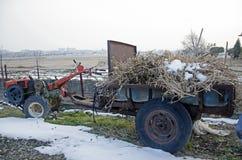 韩国拖拉机 库存图片