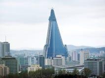 韩国横向北部平壤 免版税库存照片