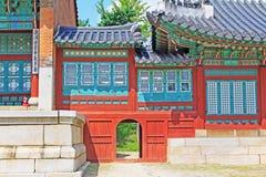 韩国汉城景福宫宫殿, Jibokjae 库存图片
