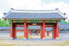 韩国汉城景福宫宫殿, Taewonjeon 免版税图库摄影