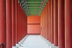 韩国汉城景福宫宫殿 库存照片