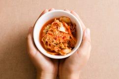 韩国泡菜圆白菜韩国人食物 免版税图库摄影