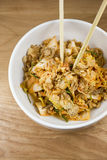 韩国泡菜沙拉 免版税库存照片