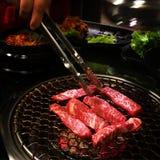 韩国烤肉 库存照片
