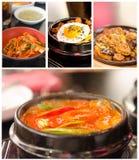 韩国烹调 图库摄影