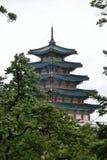 韩国的国家民间博物馆 库存照片