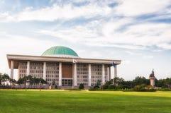韩国的国民议会 免版税库存图片