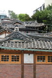 韩国的老历史建筑在汉城 免版税库存图片
