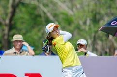 韩国的Chella崔在本田LPGA泰国中2016年 免版税库存照片