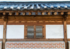 韩国窗口 免版税库存图片