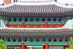 韩国联合国科教文组织世界遗产名录-汉城昌德宫宫殿 图库摄影