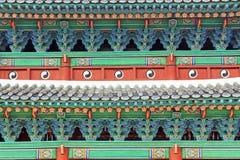 韩国联合国科教文组织世界遗产名录-汉城昌德宫宫殿 库存图片